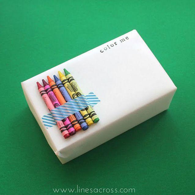 Emballage cadeau à customiser