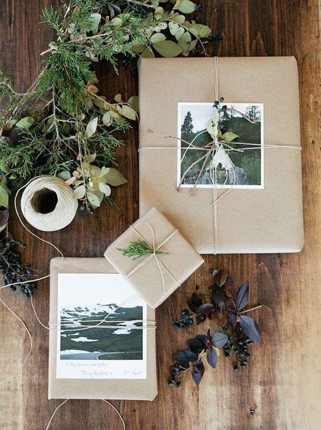 Emballage cadeau DIY