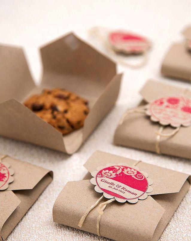 Emballage cadeau gourmand en kraft