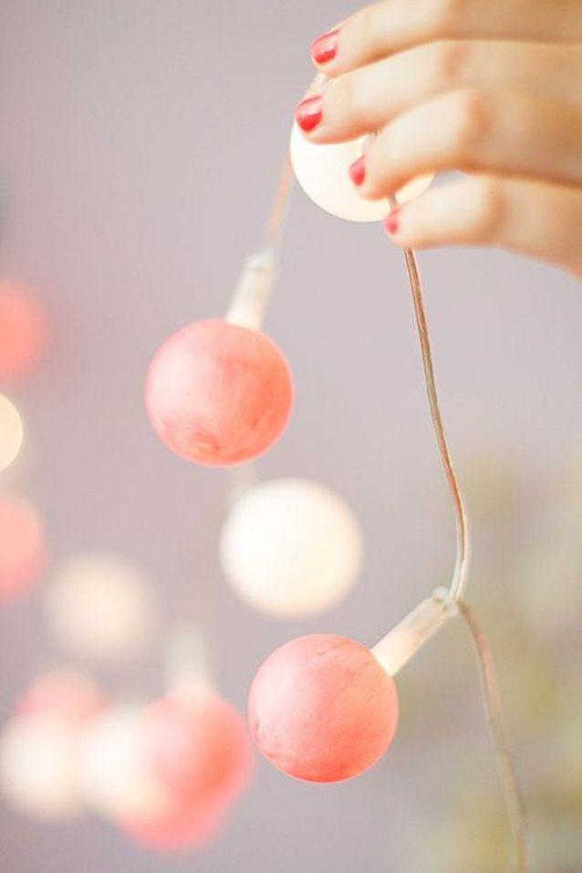 Guirlande Noël ampoule