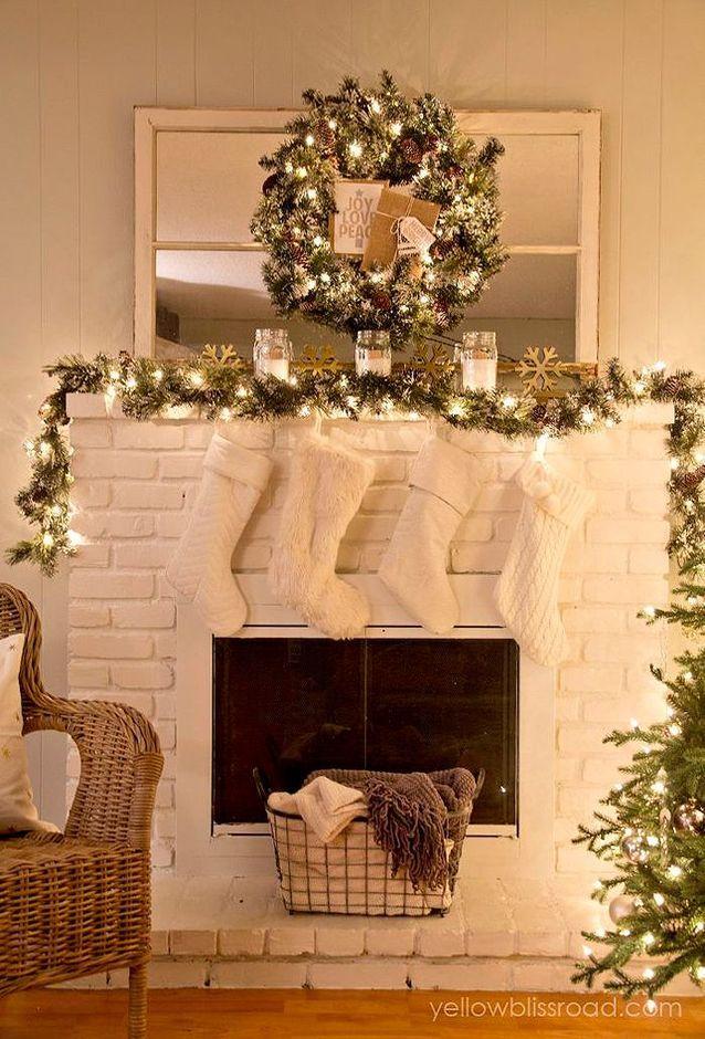 Guirlande Noël ancienne