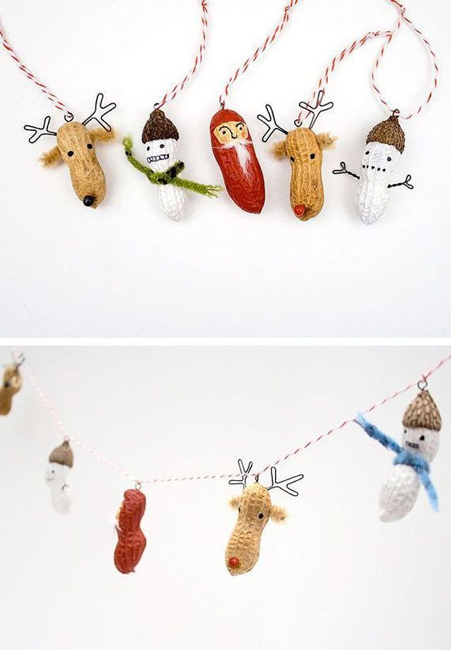 Guirlande Noël drôle