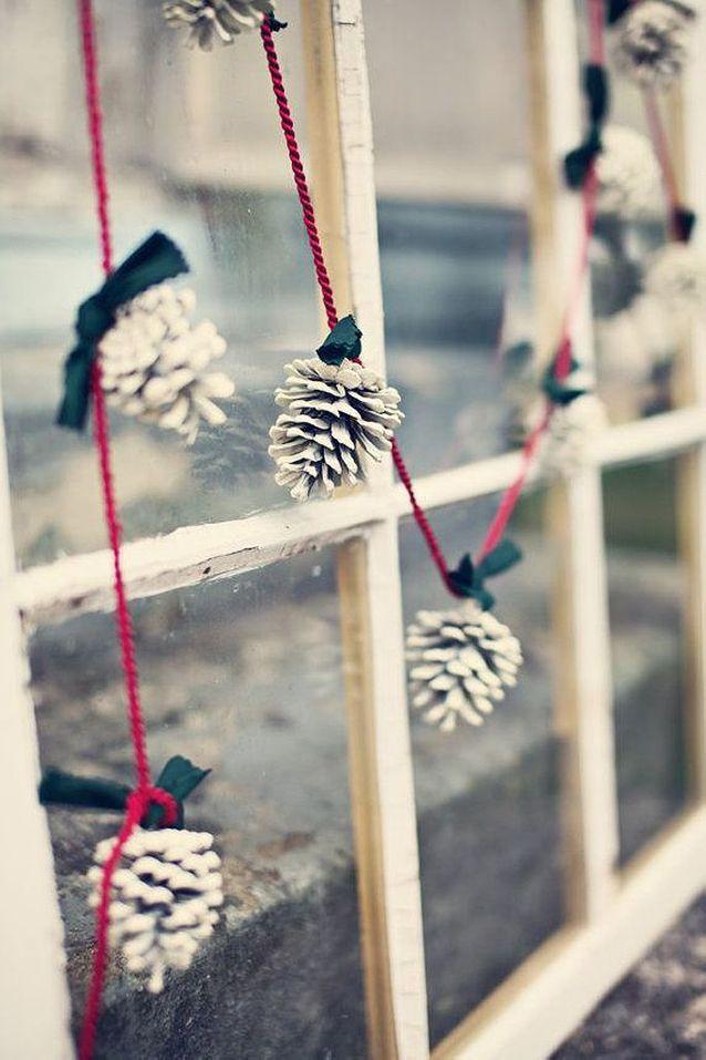 Guirlande Noël faite maison