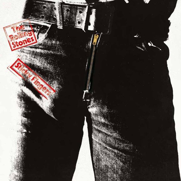 Sticky Fingers des Rolling Stones (1971)
