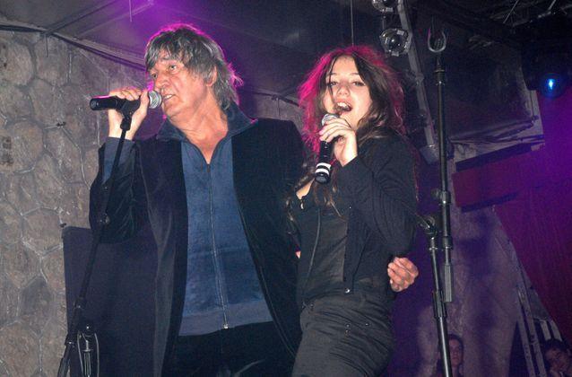 Jacques Higelin et sa fille Izia en 2007