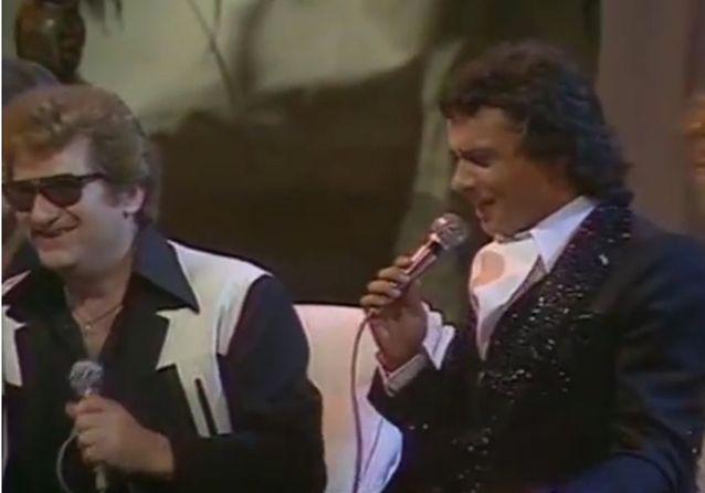 Avec Michel Sardou et Eddy Mitchell pour « Toute la musique que j'aime »