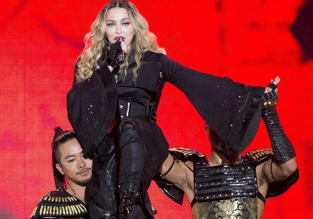 Madonna : les incroyables photos de sa tournée Rebel Heart Tour