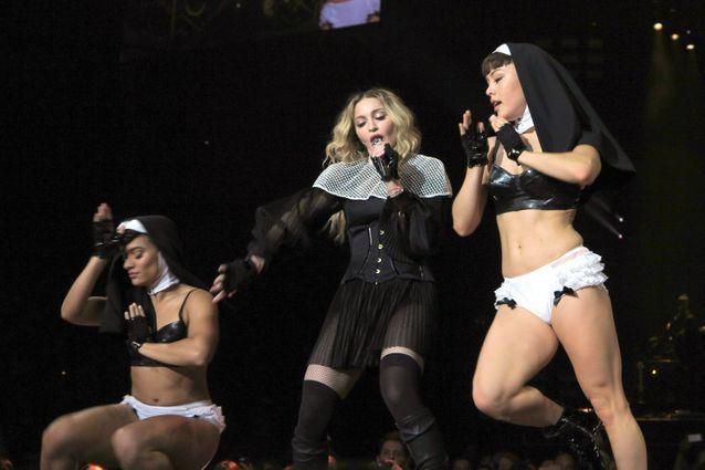 La religion, un des sujets préférés de Madonna.