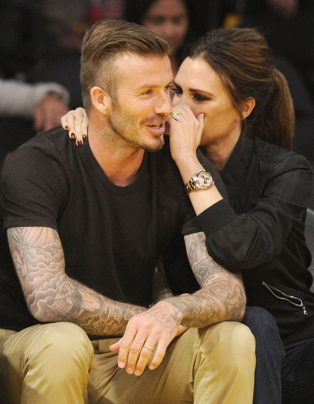 David et Victoria Beckham ont dansé sur « It had to be you »