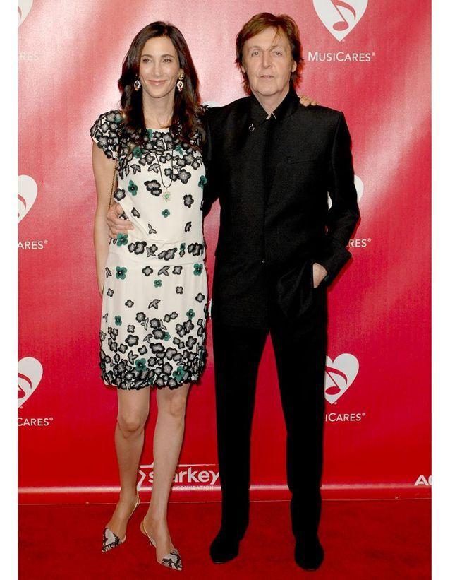 Paul McCartney et Nancy Shevell ont dansé sur « My Valentine »