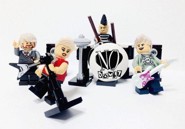Nos 12 groupes de rock préférés en Lego