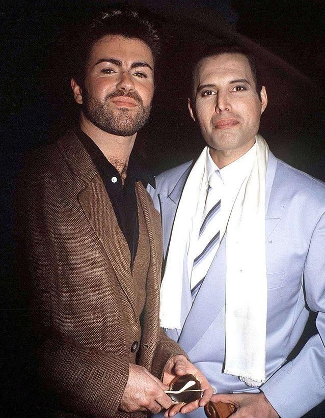 Avec Freddie Mercury