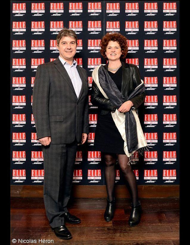 Alain Pastore et Marie-José Le Saux.