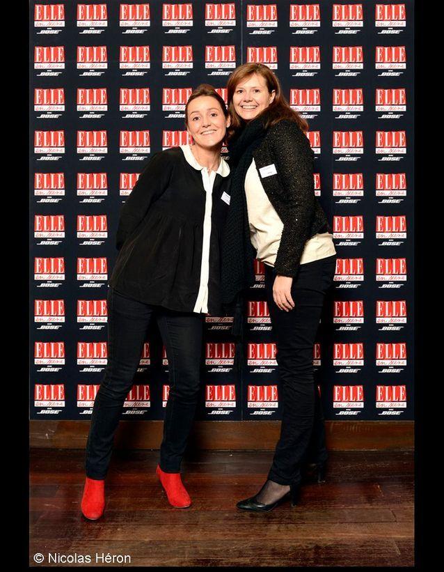 Cécilia Logel et Mélanie Flipo.