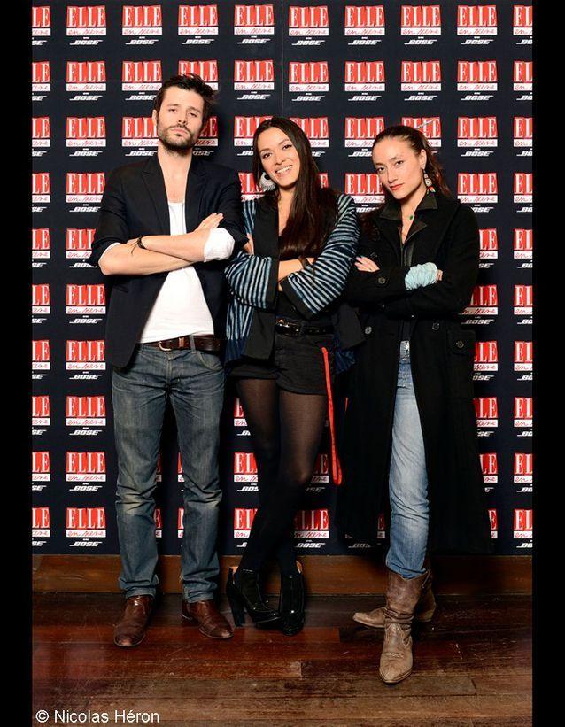 Max Labarthe, Mai Lan et Dalila Cortes.
