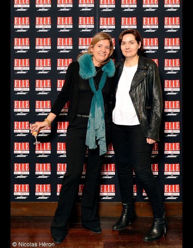 Mirella Testori et Anne-Laurence Vely.