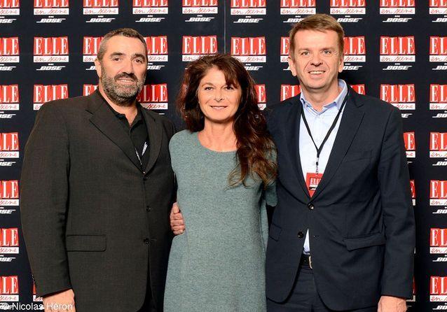 Patrick Perrin , Caroline Pois et Franck Espiasse.