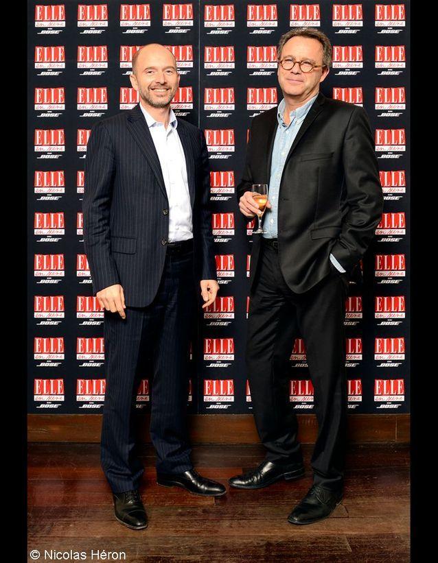 Philippe Benayoun et Eric Opderbeck.