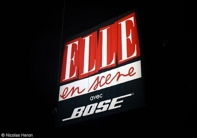 Soirée-Concert « ELLE en scène » 2012 avec Bose.