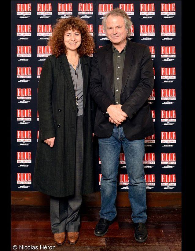 Valérie Toranian et Franz-Olivier Giesbert.