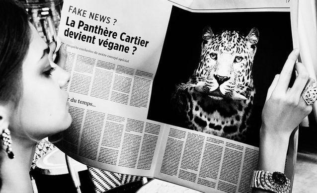 Publicité Cartier réalisée spécialement pour « Egoïste