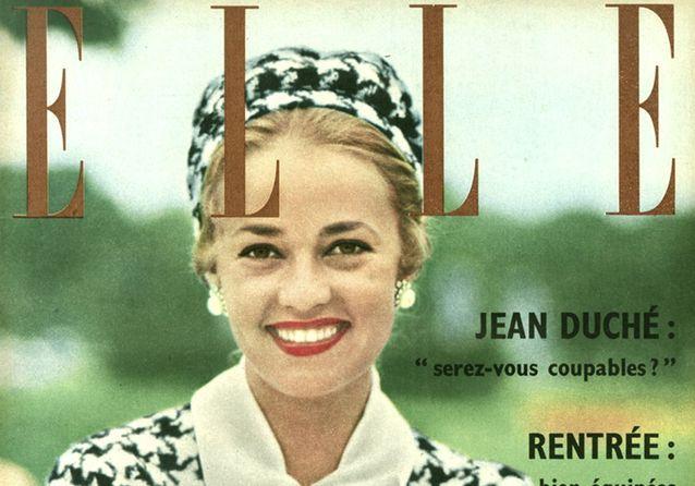 Jeanne Moreau : ses plus belles couvertures pour ELLE