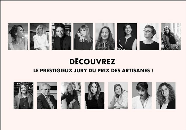 Prix des artisanes : découvrez le jury !