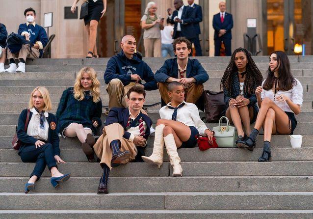 « Gossip Girl » : de nouvelles images du tournage du reboot dévoilées