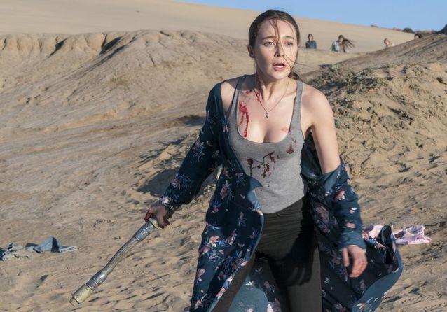 Alycia Debnam-Carey dans « Fear The Walking Dead »