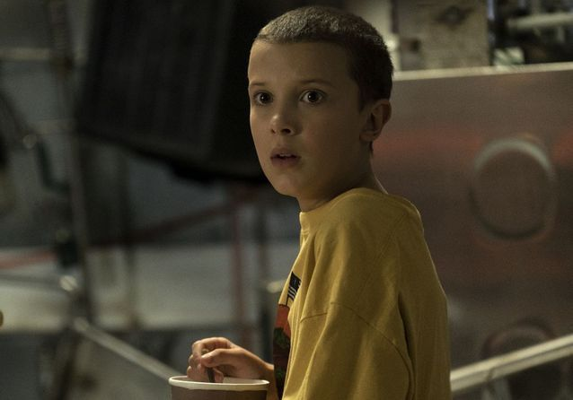 Millie Bobby Brown dans « Stranger Things »