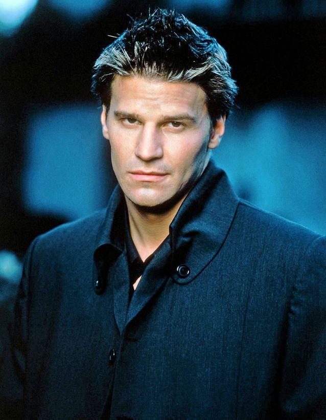 David Boreanaz est Angel dans « Buffy contre les vampires »
