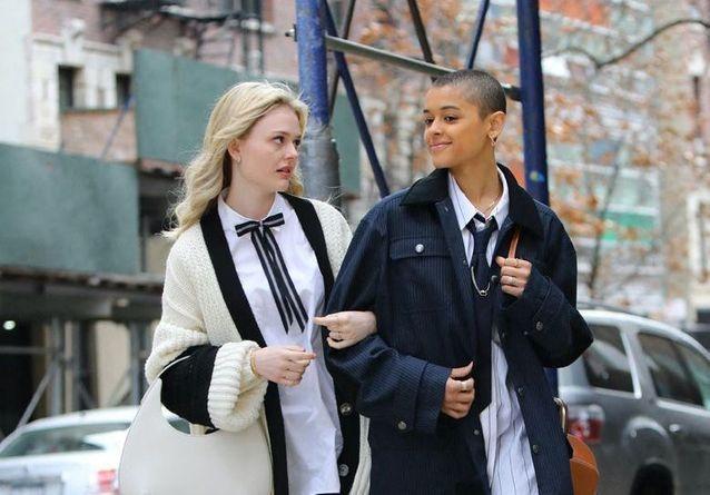 Reboot de Gossip Girl : les acteurs ultra stylés sur les nouvelles photos du tournage