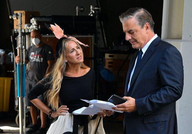 Sex and the City : Carrie et Mr Big réunis sur le tournage de la série