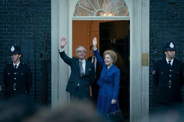 Gillian Anderson dans la peau de Margaret Thatcher