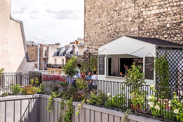 The Shed, le rooftop à l'Hôtel des Grands Boulevards