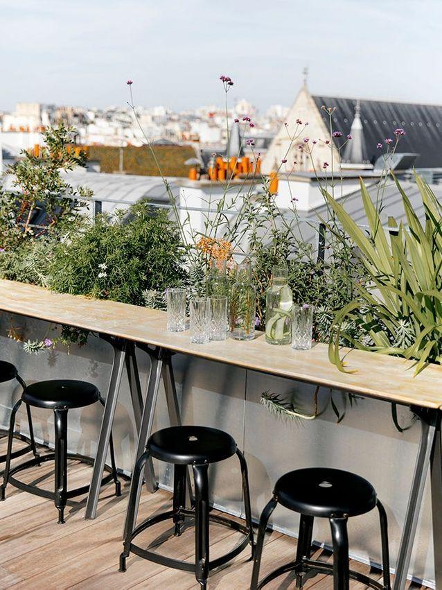 Le rooftop de l'Hôtel National des Arts et Métiers