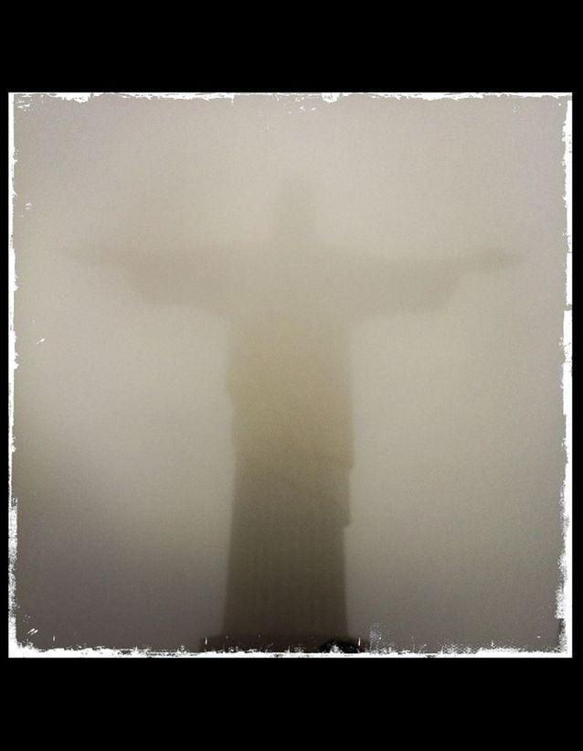 Christ dans le Brouillard