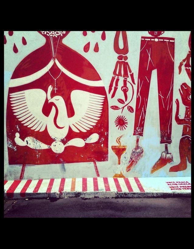 Rue Des Peintres Rouge