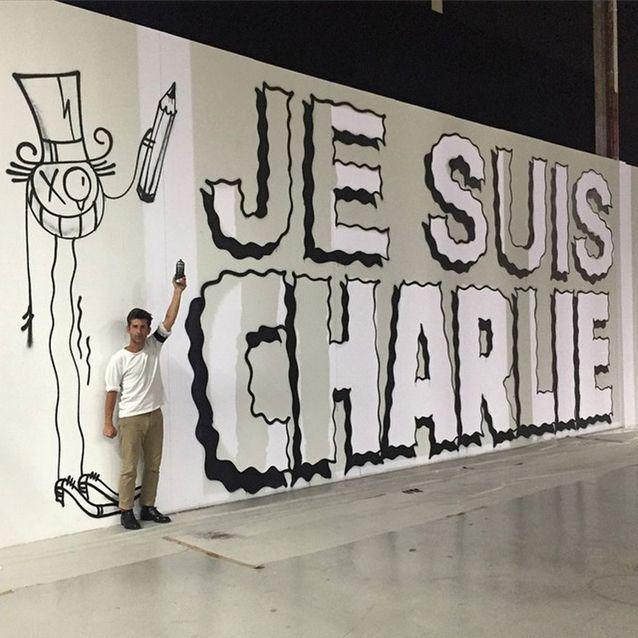 L'hommage au Palais de Tokyo, à Paris, de l'artiste graffeur André