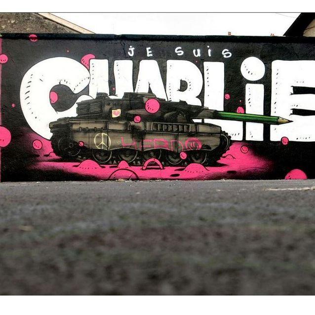 L'oeuvre de l'artiste Gris1 à Lyon