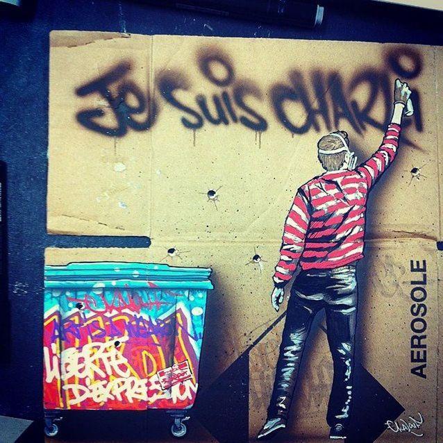 Les graffeurs sont Charlie