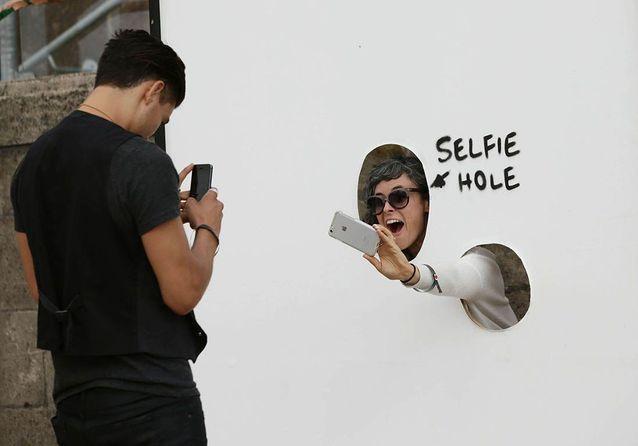 Le trou à selfie