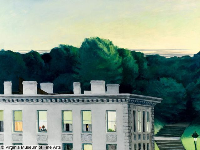 "Maison Martin Margiela commente ""House At Dusk"" d'Edward Hopper"