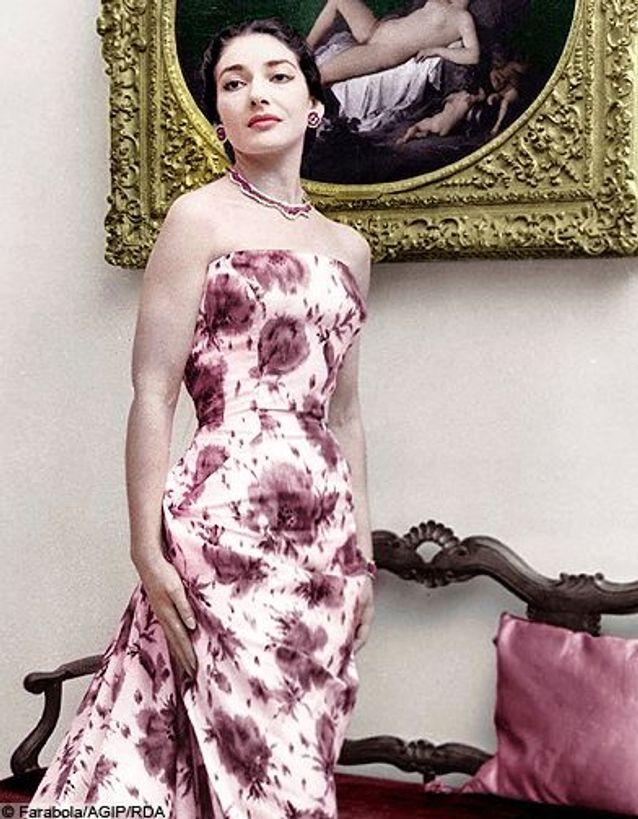 Juliette Gréco écoute Maria Callas