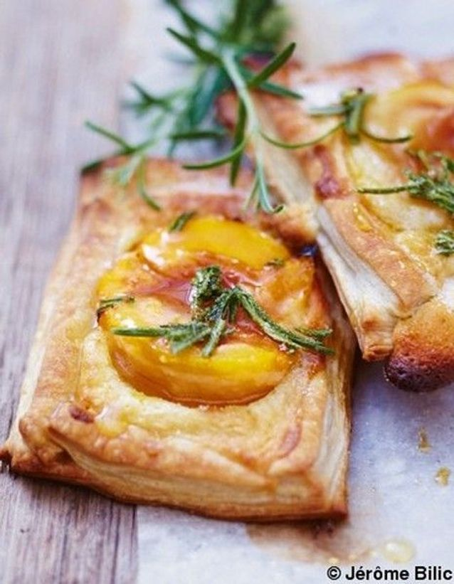 Tartelettes aux abricots et creme d amandes reference