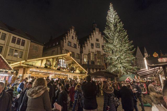 Le plus ancien : le marché de Noël de Francfort