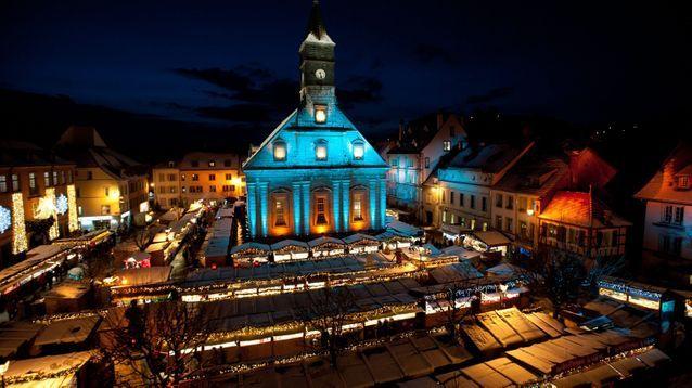 Le plus diversifié : le marché de Noël de Montbéliard
