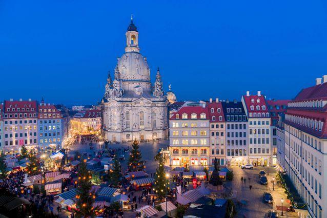 Le plus emblématique : le marché de Noël de Dresde