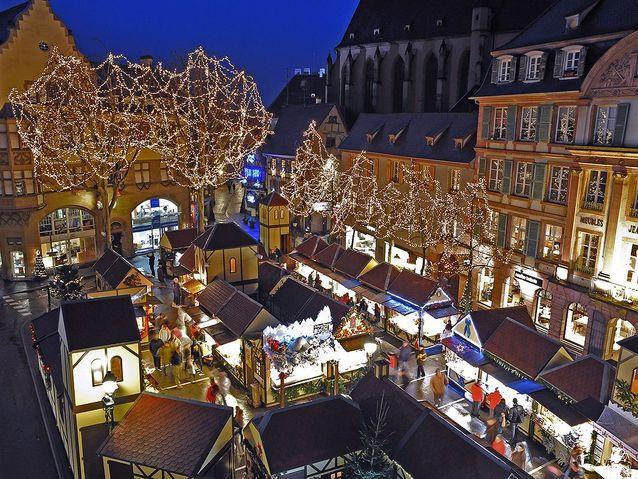 Le plus gourmand : le marché de Noël de Colmar