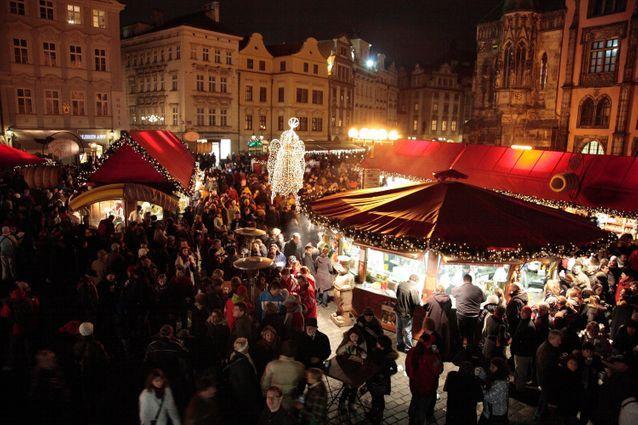 Le plus grand : le marché de Noël de Prague